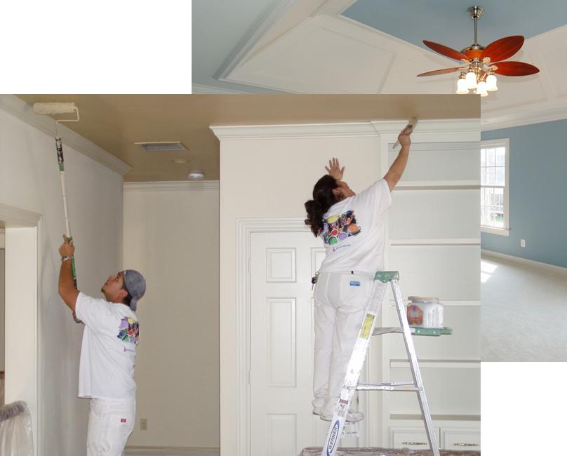 Kosten binnenschilderwerk huis schilders for Uurloon schilder